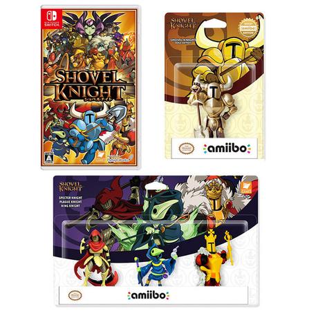 ショベルナイト特典版(Nintendo Switch)【トレジャーパック】