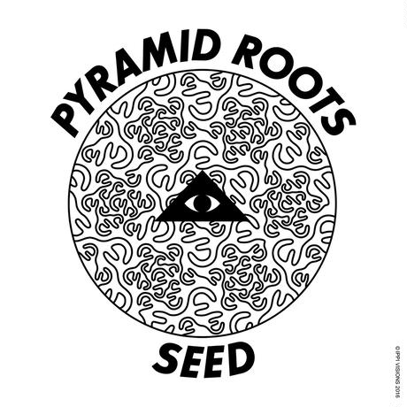"PYRAMID ROOTS ""SEED"" / WHITE × BLACK"