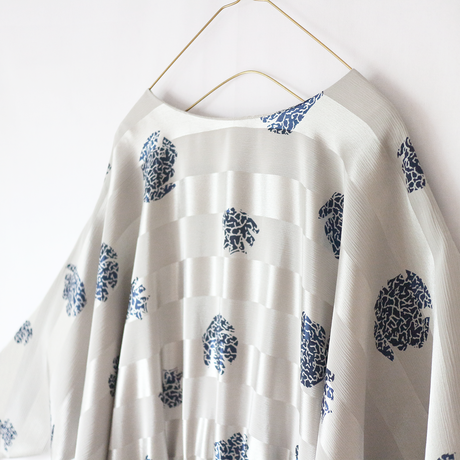 retro pattern dolman sleeve_op