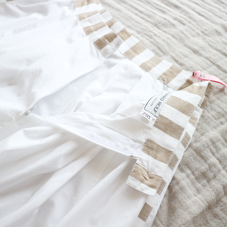 side stripe & white long_sk