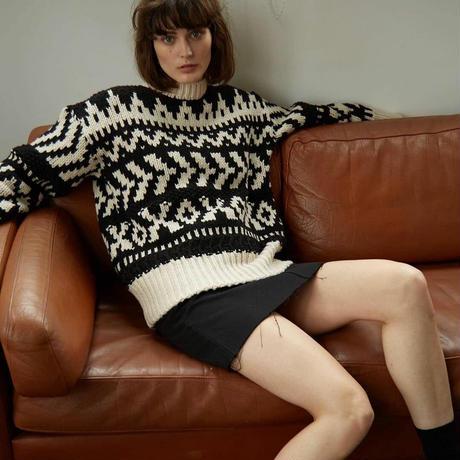 Trico wool knit
