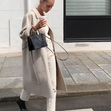 予約販売 Handmade wool coat