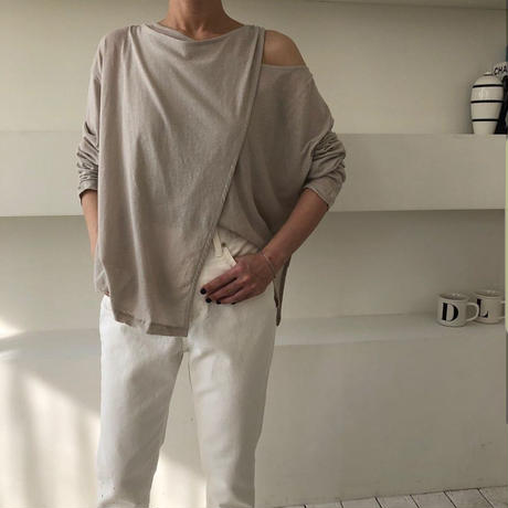 予約販売 Asymmetry Tshirt