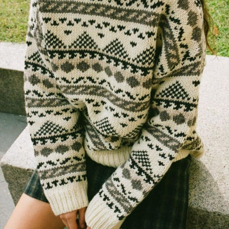shuttle land knit