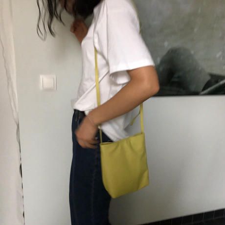 予約販売Lime leather bag