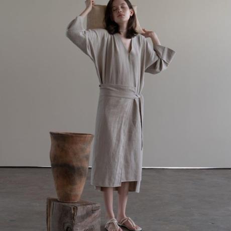 Sand V dress