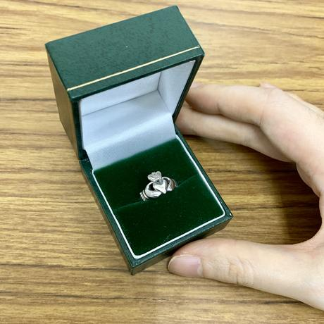 〔 アイルランド直輸入 〕クラシックタイプ アイルランド 伝統の 指輪クラダ リング ペアリング シルバー 刻印 ホールマーク あり