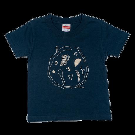 "kids T-shirts 100 ""kitchen navy"""