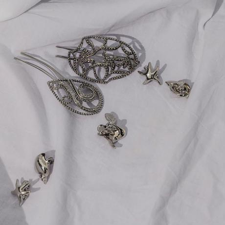 seaweed earring
