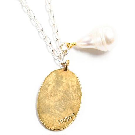 greek woman necklace