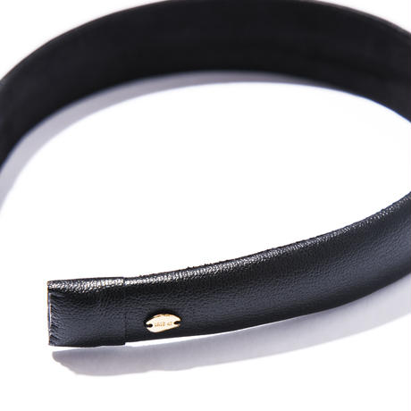 nocturne wide head band/black/brown