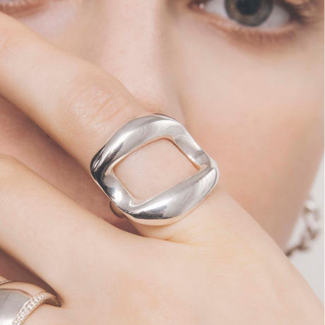 rome ring silver