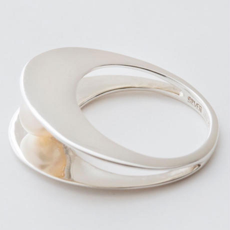 shell oval ring