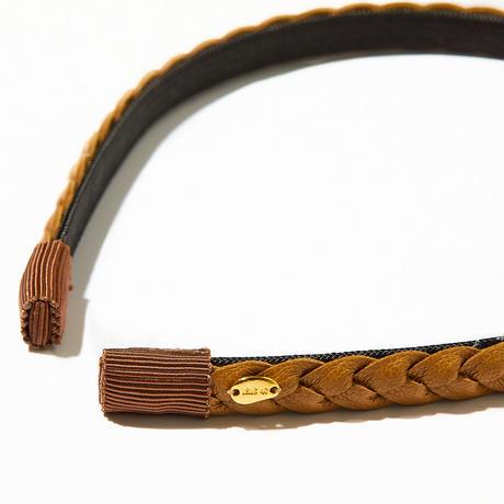 sonata head band /black/camel