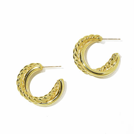 twist pierce(gold)