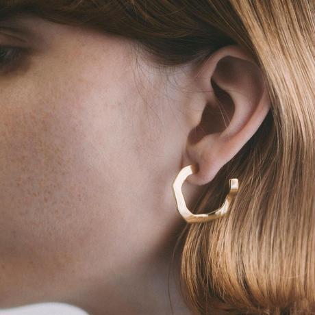 wavy pierce S (silver)