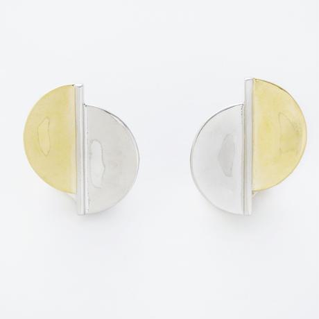 bi color earring