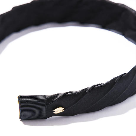 etude head band/black/brown