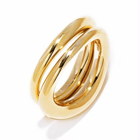 W warp ring / gold