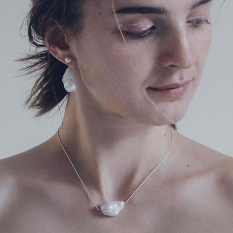 baroque pearl neaklace