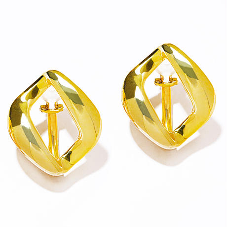 rome ear clip gold