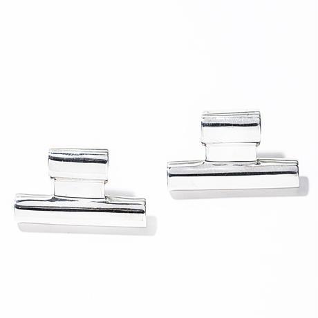 tube pierce silver