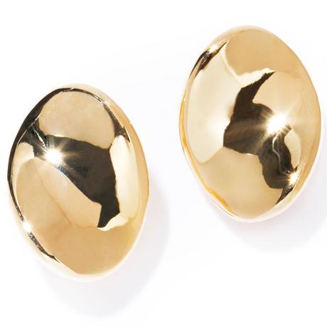blaze earring / silver,gold