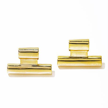 tube pierce gold