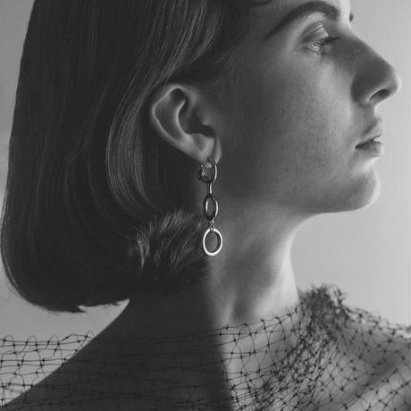 glass earring