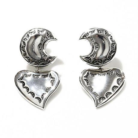 ancient moon earring