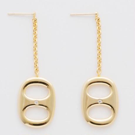 key hole chain pierce