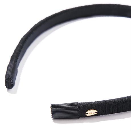 waltz head band/black/white/beige