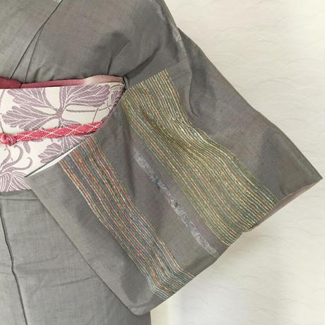 ◆極上の逸品!青山みとも取扱 紬 付下げ 節織◆美品 06mt67