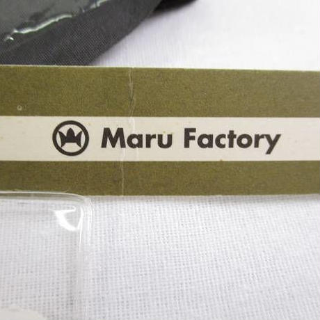 n2901▼Maru Factory 丸山正 紬 反物 八掛付(墨色) 伊と幸 特蚕座繰 横縞 裏葉柳×海松色 新品 美品