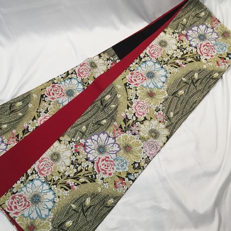 ★人気の赤!振袖、袋帯、長襦袢セット★美品 07z2