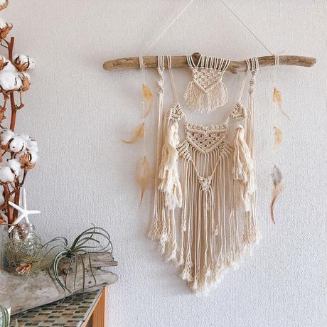 Macrame wall hanging ♯25