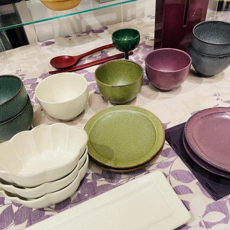 陶器姫碗 グリーン
