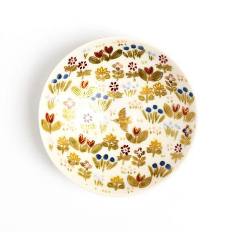 豆皿 ミルフルール / Craft Studio Karakusa  飯野夏実