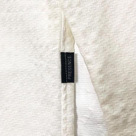 ジャガード 七分袖シャツ