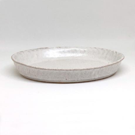 楕円深皿 小 / 河上奈未