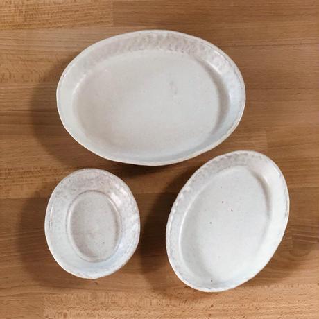 楕円小皿 / 河上奈未