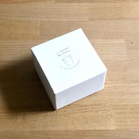 幸せの蒼いとりさん 中、小用ボックス E / Rie Glass Garden