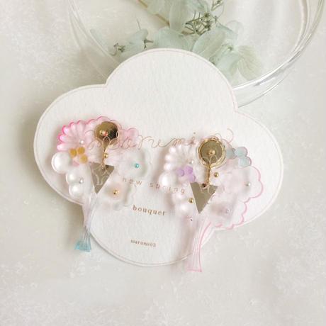 bouquet(大)イヤリングB