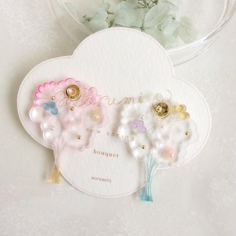 bouquet(大)ピアスB