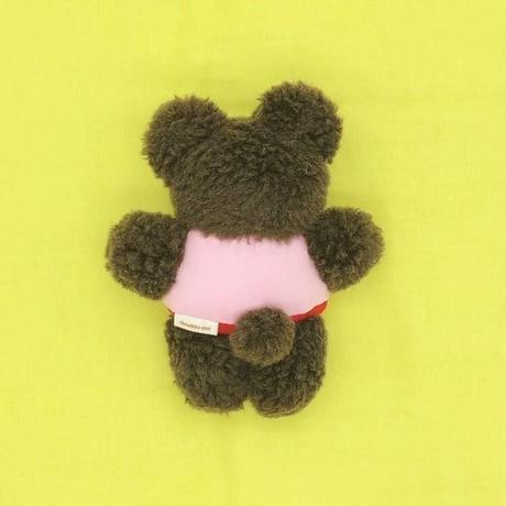 くまのマック/ ピンク蝶ネクタイ