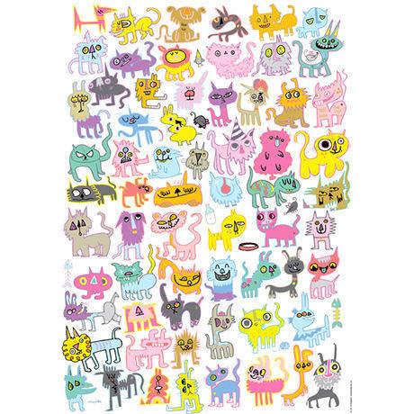Doodlecats : Jon Burgerman - 29571