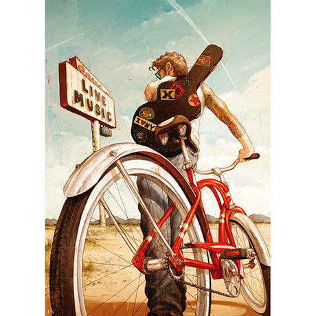 29813  Rory Kurtz : Bike Art - Music Ride