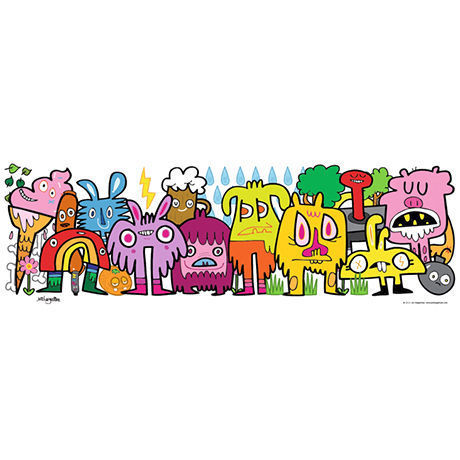 29455  Jon Burgerman : In The Park