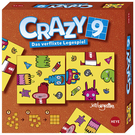 Crazy 9 : Burgerman - Doodles - 28503