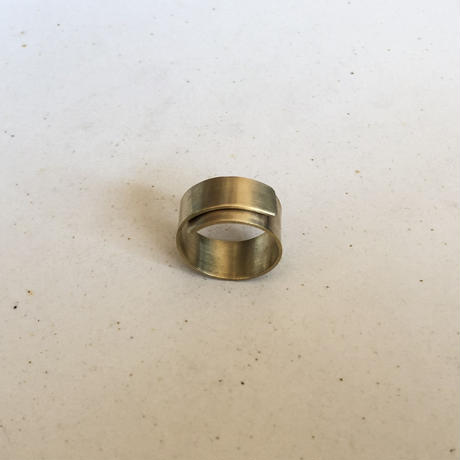 brass wide ONE RING #15